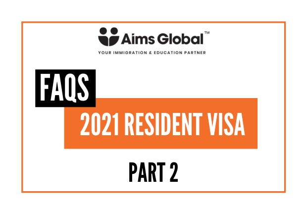 2021 Resident Visa - FAQs Part 2