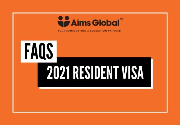 2021 Resident Visa - FAQs
